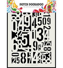 Dutch Doobadoo Dutch Mask Art A5 Numbers (470.715.146)