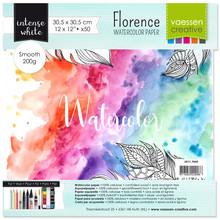 Vaessen Creative Florance Smooth Intense Aquarelpapier 12x12 Inch 50pcs (2911-7004)