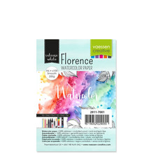 Vaessen Creative Florance Smooth Intense Aquarelpapier A6 100pcs (2911-7001)