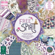 First Edition Free Spirit 8x8 Inch Paper Pad (FEPAD213)