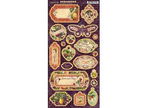 Graphic 45 Fruit & Flora Chipboard (4502002)