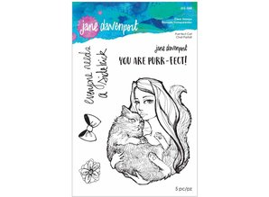 Jane Davenport Purr-fect Cat Clear Stamps (JDS-048)
