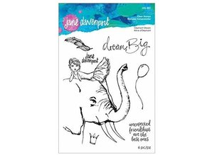 Jane Davenport Elephant Dream Clear Stamps (JDS-051)