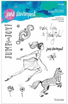 Jane Davenport Fairytale Fox Clear Stamps (JDS-052)