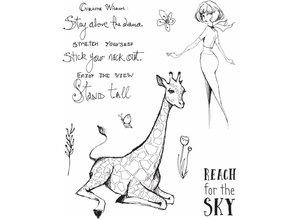 Jane Davenport Giraffe Wisdom Clear Stamps (JDS-053)