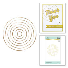 Spellbinders Essential Glimmer Circles Hot Foil Plates (GLP-150)
