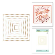 Spellbinders Essential Glimmer Squares Hot Foil Plates (GLP-151)