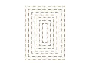 Spellbinders Essential Glimmer Rectangles Hot Foil Plates (GLP-152)