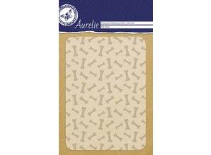 Aurelie Dog Bones Background Embossing Folder (AUEF1020)