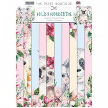 The Paper Boutique Wild & Wonderful Insert Collection (PAPS1037)