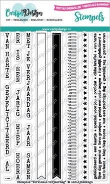 CarlijnDesign Clear Stamps Verticale Verjaardag (CDST0043)
