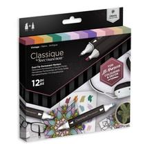 Spectrum Noir Classique Alcohol Markers Set Vintage (12pcs) (SPECN-CS12-VIN)