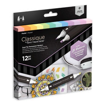 Spectrum Noir Classique Alcohol Markers Set Pastels (12pcs) (SPECN-CS12-PAS)