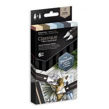 Spectrum Noir Classique Alcohol Markers Set Shade & Tone (6pcs) (SPECN-CS6-ST)