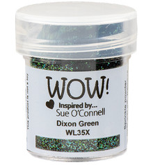 WOW! Dixion Green Embossing Powder (WL35X)