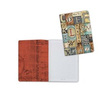 Stamperia Notebook A6 Mechanical Fantasy Letters (ENBA6002)