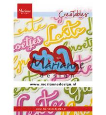 Marianne Design Creatable Lente (LR0645)