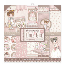 Stamperia Little Girl 12x12 Inch Paper Pack (SBBL67)
