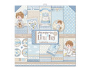 Stamperia Little Boy 12x12 Inch Paper Pack (SBBL68)
