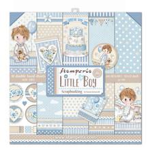 Stamperia Little Boy 12x12 Inch Paper Pack (SBBL68)