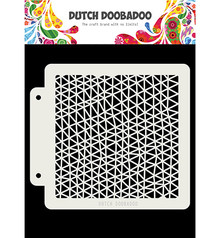 Dutch Doobadoo Mask Art Triangle Wave (470.715.143)