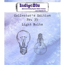 IndigoBlu Collectors Edition 35 Rubber Stamp - Light Bulbs (IND0592)