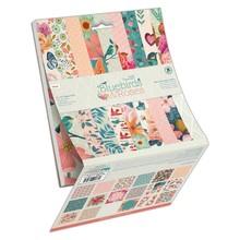 Papermania Bluebirds & Roses 6x6 Inch Paper Pad (PMA 160431)