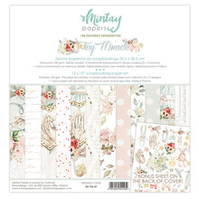 Mintay Tiny Miracle 12x12 Inch Scrapbooking Paper Set (MT-TIN-07)