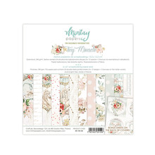 Mintay Tiny Miracle 6x6 Inch Scrapbooking Paper Pad (MT-TIN-08)