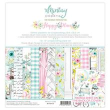 Mintay Happy Place 12x12 Inch Scrapbooking Paper Set (MT-HAP-07)