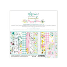 Mintay Happy Place 6x6 Inch Scrapbooking Paper Pad (MT-HAP-08)