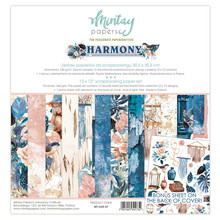 Mintay Harmony 12x12 Inch Scrapbooking Paper Set (MT-HAR-07)