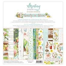 Mintay Beauty in Bloom 12x12 Inch Scrapbooking Paper Set (MT-BIB-07)