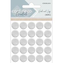 Card Deco Essentials Hook and Loop Ø 20 mm (CDEHL001)