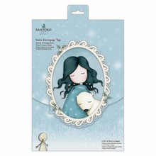 Gorjuss Winter Jumbo Decoupage Tags (GOR 169901)