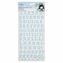 Gorjuss Winter Alphabet Thicker Stickers (168pcs) (GOR 351900)