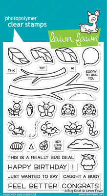 Lawn Fawn A Bug Deal Clear Stamps (LF2221)