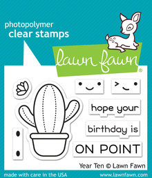 Lawn Fawn Year Ten Clear Stamps (LF2236)