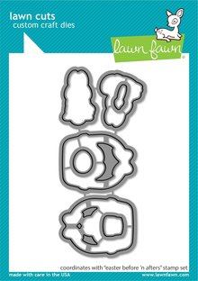 Lawn Fawn Easter Before 'n Afters Dies (LF2231)