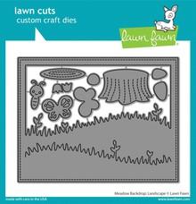 Lawn Fawn Meadow Backdrop: Landscape Dies (LF2267)