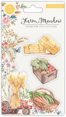 Craft Consortium Farm Meadow Pick of the Crop Clear Stamps (CCSTMP025)