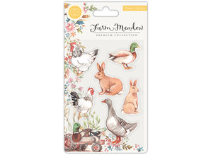 Craft Consortium Farm Meadow Animals Clear Stamps (CCSTMP026)