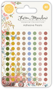 Craft Consortium Farm Meadow Adhesive Pearls (CCAPRL001)