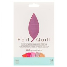 We R Memory Keepers Foil Quill Foil Sheets 4x6 Inch Flamingo (30pcs) (660671)