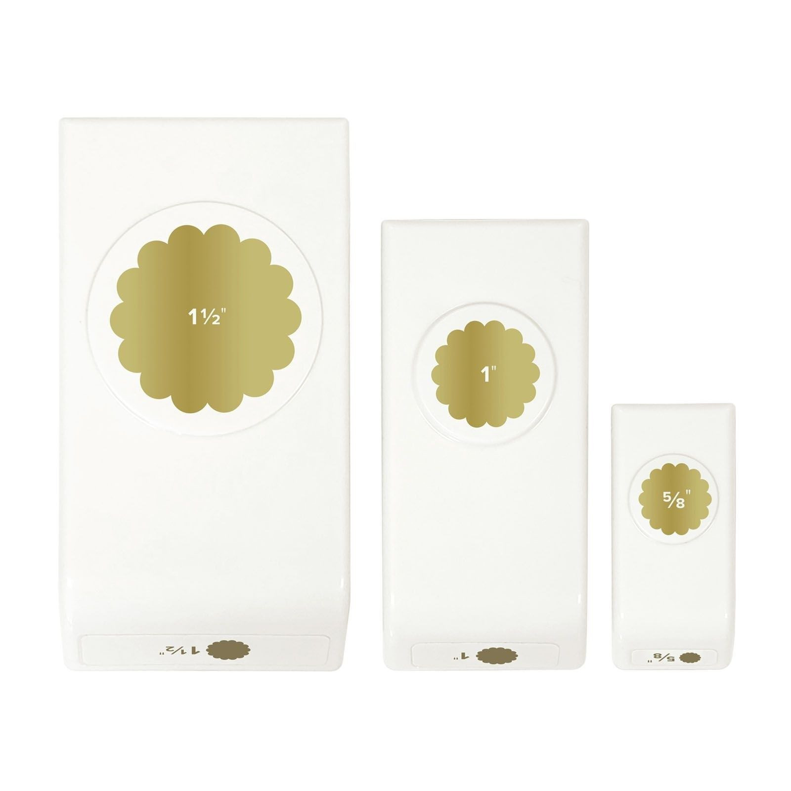 We R Memory Keepers Layered Punch Scallop Circles (662044)