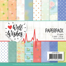 Jeanine's Art Well Wishes 6x6 Inch Paper Pack (JAPP10014)