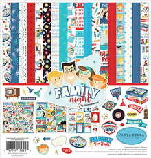 Carta Bella Family Night 12x12 Inch Collection Kit (CBFN114016)