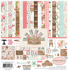 Carta Bella Farmhouse Market 12x12 Inch Collection Kit (CBFAR113016)