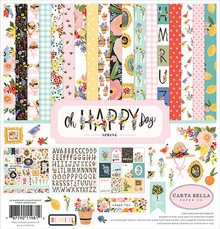 Carta Bella Oh Happy Day 12x12 Inch Collection Kit (CBOHD112016)