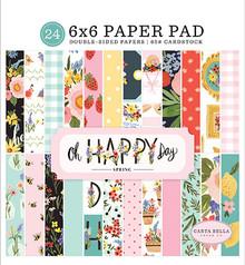Carta Bella Oh Happy Day 6x6 Inch Paper Pad (CBOHD112023)